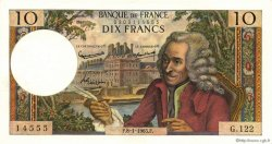 10 Francs VOLTAIRE FRANCE  1965 F.62.12 pr.NEUF
