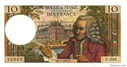 10 Francs VOLTAIRE FRANCE  1967 F.62.27 SPL+