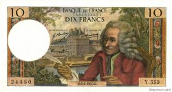 10 Francs VOLTAIRE FRANCE  1970 F.62.42 SPL+