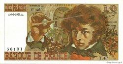 10 Francs BERLIOZ FRANCE  1974 F.63.05 SPL+