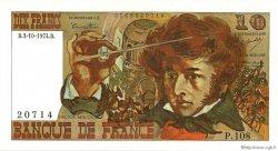 10 Francs BERLIOZ FRANCE  1974 F.63.07b NEUF