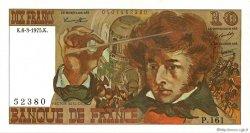 10 Francs BERLIOZ FRANCE  1975 F.63.09 pr.SPL