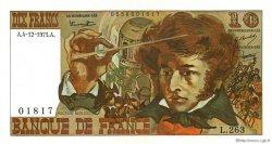 10 Francs BERLIOZ FRANCE  1975 F.63.15 SPL+