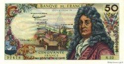 50 Francs RACINE FRANCE  1962 F.64.02 SPL