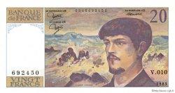 20 Francs DEBUSSY FRANCE  1983 F.66.04 NEUF