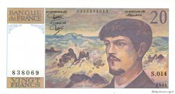 20 Francs DEBUSSY FRANCE  1984 F.66.05 pr.NEUF