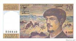 20 Francs DEBUSSY FRANCE  1989 F.66.10b NEUF