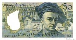50 Francs QUENTIN DE LA TOUR FRANCE  1976 F.67.01 pr.NEUF