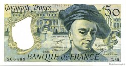 50 Francs QUENTIN DE LA TOUR FRANCE  1983 F.67.09 SPL