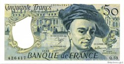 50 Francs QUENTIN DE LA TOUR FRANCE  1988 F.67.14