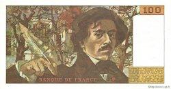 100 Francs DELACROIX modifié FRANCE  1978 F.69.01c SUP+