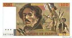 100 Francs DELACROIX modifié FRANCE  1978 F.69.01d NEUF