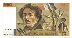 100 Francs DELACROIX modifié FRANCE  1984 F.69.08a SPL