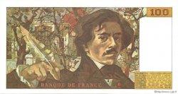 100 Francs DELACROIX modifié FRANCE  1988 F.69.12 SPL
