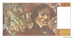 100 Francs DELACROIX imprimé en continu FRANCE  1990 F.69bis.01b4 NEUF