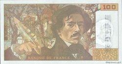 100 Francs DELACROIX imprimé en continu FRANCE  1990 F.69bis.01b6 NEUF