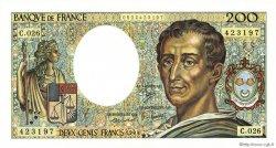 200 Francs MONTESQUIEU FRANCE  1984 F.70.04 pr.NEUF