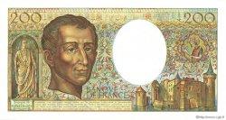 200 Francs MONTESQUIEU FRANCE  1985 F.70.05 SPL+