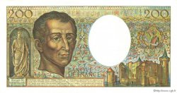 200 Francs MONTESQUIEU FRANCE  1986 F.70.06 SPL+