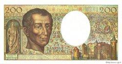 200 Francs MONTESQUIEU Modifié FRANCE  1994 F.70/2.01 SPL+
