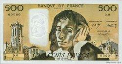 500 Francs PASCAL FRANCE  1968 F.71.00s1 NEUF