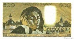 500 Francs PASCAL FRANCE  1969 F.71.04 SUP+