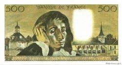 500 Francs PASCAL FRANCE  1971 F.71.07 SPL