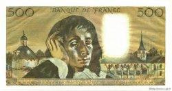500 Francs PASCAL FRANCE  1974 F.71.11 NEUF
