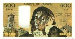 500 Francs PASCAL FRANCE  1975 F.71.13 SPL+