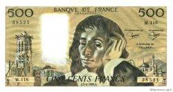 500 Francs PASCAL FRANCE  1980 F.71.21 pr.NEUF