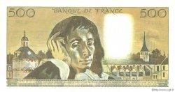 500 Francs PASCAL FRANCE  1989 F.71.41 pr.NEUF