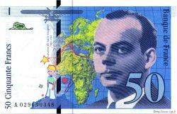 50 Francs SAINT-EXUPÉRY Modifié FRANCE  1996 F.73.02 NEUF