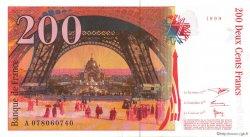 200 Francs EIFFEL FRANCE  1999 F.75.05 pr.NEUF