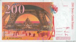 200 Francs EIFFEL FRANCE  1999 F.75.05 SPL+