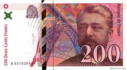 200 Francs EIFFEL sans le pont FRANCE  1996 F.75qua.01 SPL