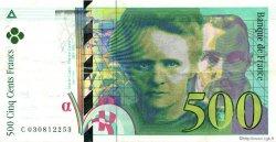 500 Francs PIERRE ET MARIE CURIE sans camionnette FRANCE  1994 F.76six.01 pr.SUP