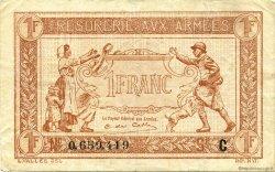 1 Franc FRANCE  1917 VF.03.03 TTB