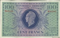 100 Francs MARIANNE FRANCE  1943 VF.06.01f pr.SUP