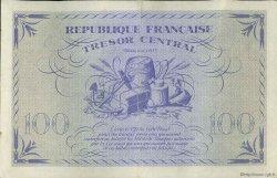 100 Francs MARIANNE FRANCE  1943 VF.06.01 pr.SUP