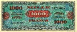 1000 Francs Drapeau FRANCE  1944 VF.22.01 SUP+