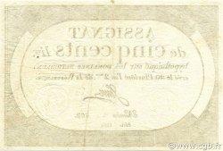 500 Livres FRANCE  1794 Ass.47a pr.SUP