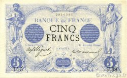 5 Francs NOIR FRANCE  1872 F.01.02 SUP