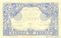 5 Francs BLEU FRANCE  1912 F.02.06 pr.NEUF