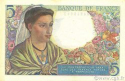 5 Francs BERGER FRANCE  1945 F.05.06 NEUF