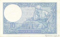 10 Francs MINERVE modifié FRANCE  1940 F.07.16 SPL+