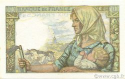 10 Francs MINEUR FRANCE  1949 F.08.22a SUP+