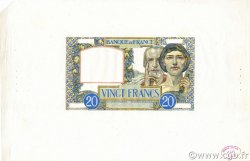 20 Francs SCIENCE ET TRAVAIL FRANCE  1941 F.12.00 NEUF