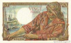 20 Francs PÊCHEUR FRANCE  1943 F.13.07