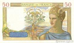 50 Francs CÉRÈS FRANCE  1937 F.17.39 SPL+