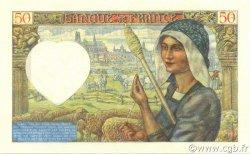 50 Francs JACQUES CŒUR FRANCE  1941 F.19.05 NEUF